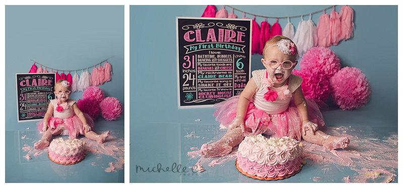 Orlando First Birthday Photographer Cake Smash