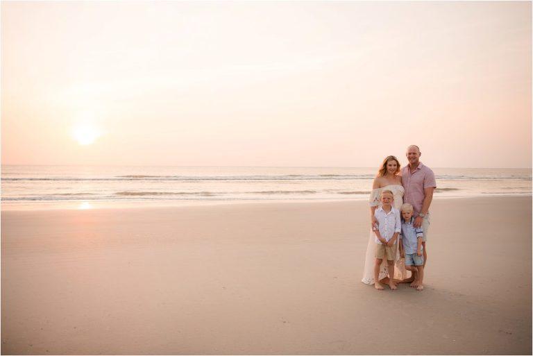 D Family New Smyrna Beach Maternity Photographer